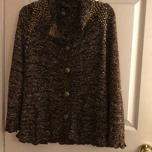 BCBG MAXAZRIA sweater size XL
